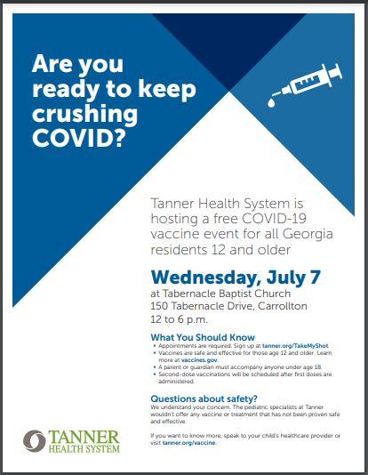 Covid Vaccine Event
