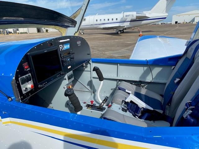Rain plane cockpit