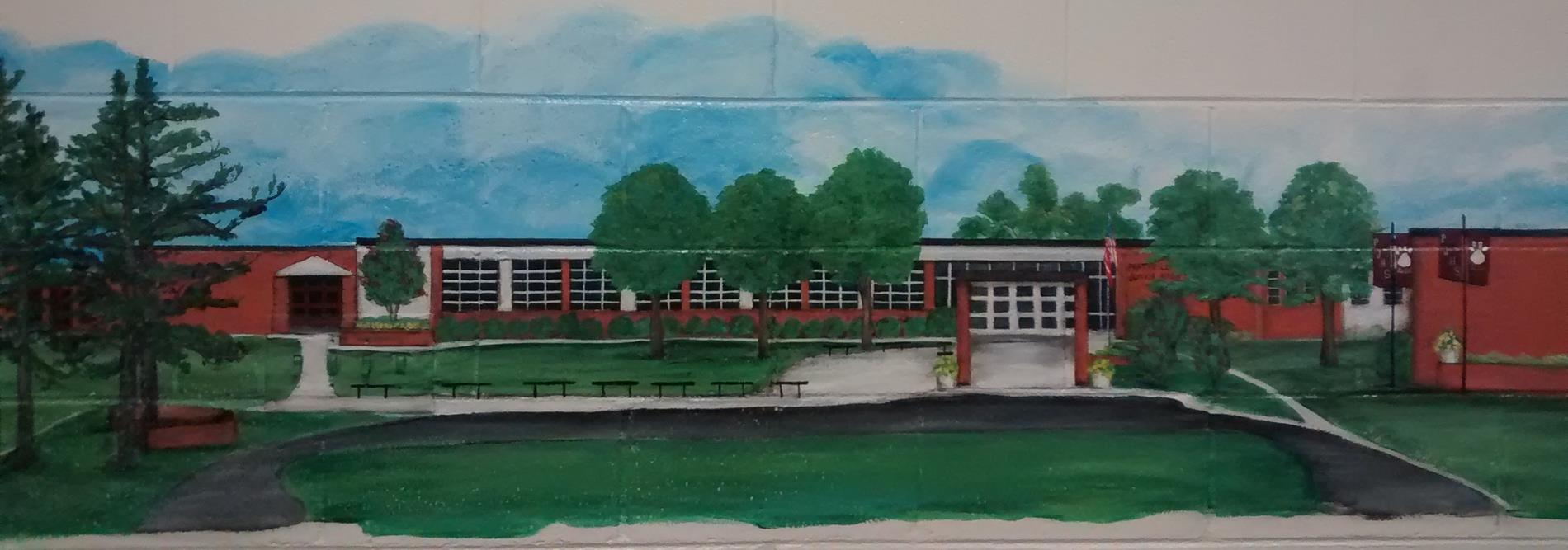 painting of school