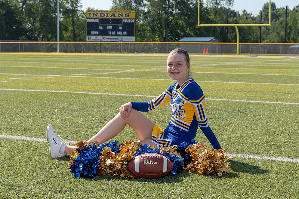 Freshman Lindsay Bregar