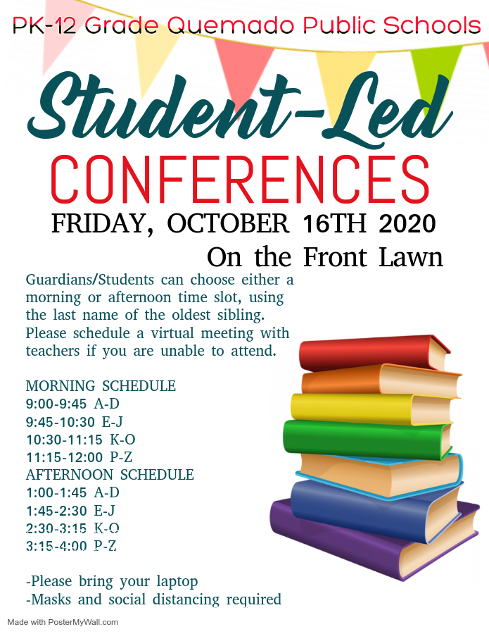 Student led conf.