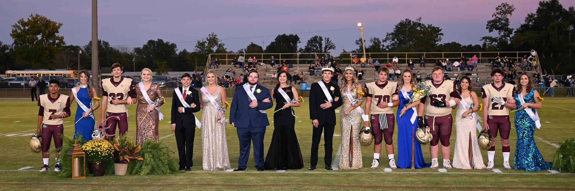 LCHS Homecoming Court