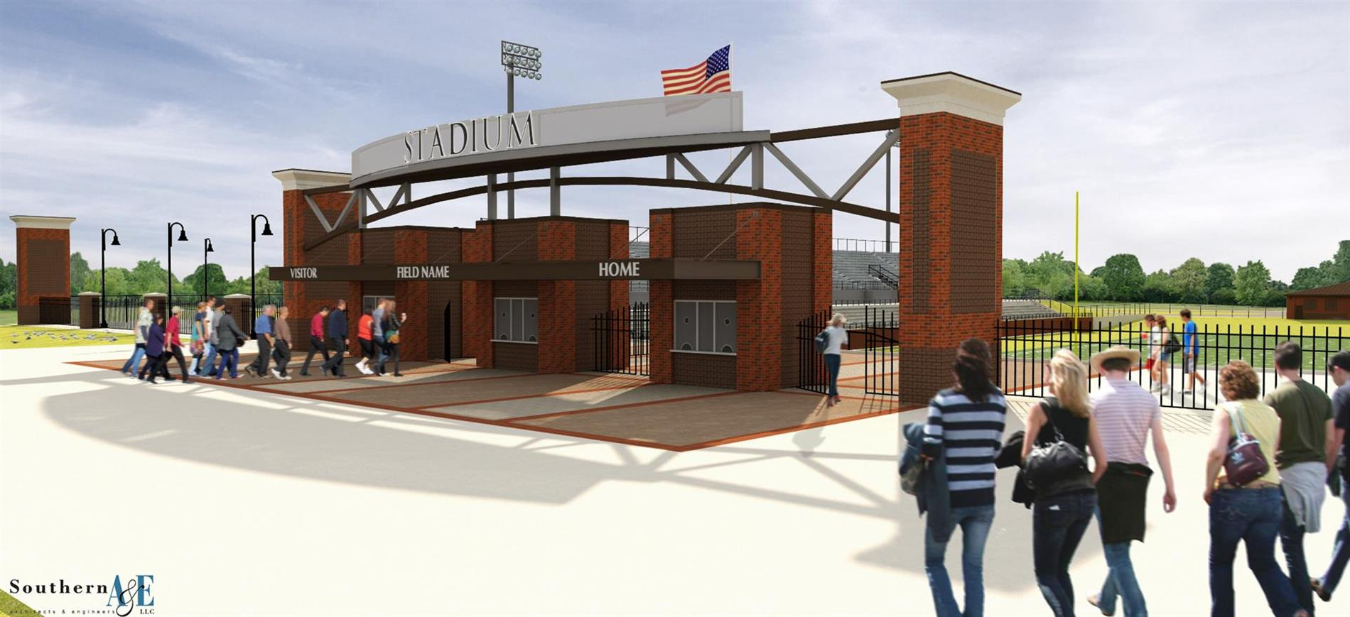 Freedom Field Front Entrance