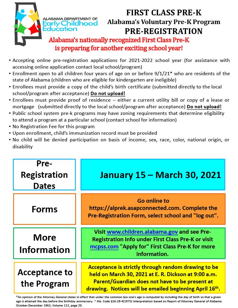 Pre-K Pre-Registration