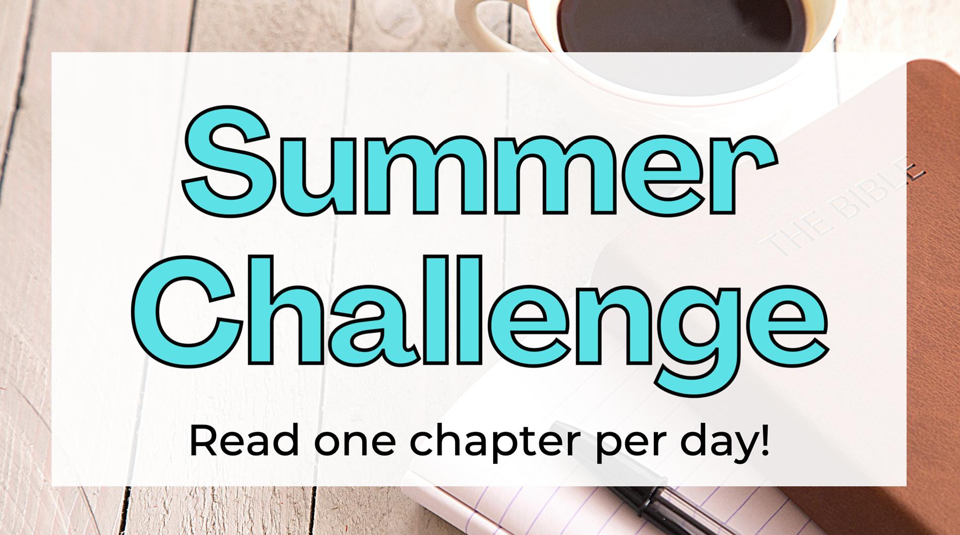 Sumer Reading Challenge