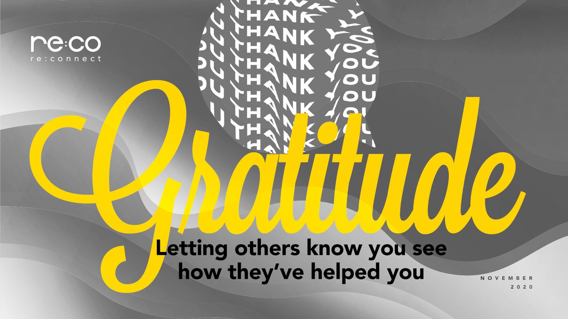 November 2020-Gratitude