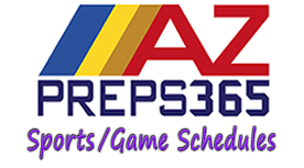 link to AZ Preps365 sports and games schedules