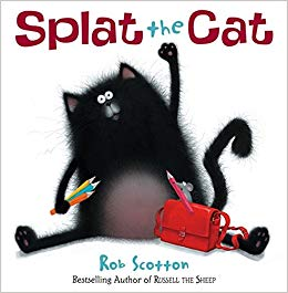 Splat the Cat book cover image