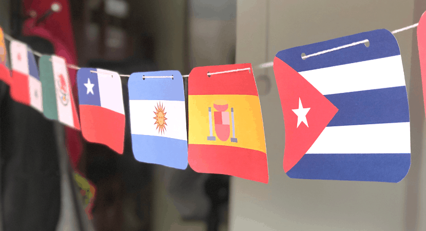 Spanish Speaking Country Flags