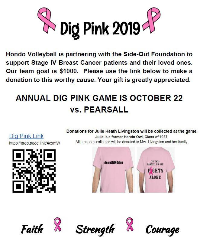 Dig Pink 2019