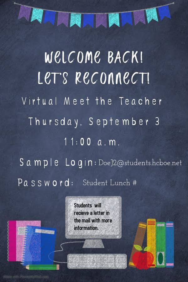 virtual open house thursday september 3 11-1 note