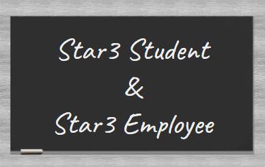 Star3 Student & Star3 Staff