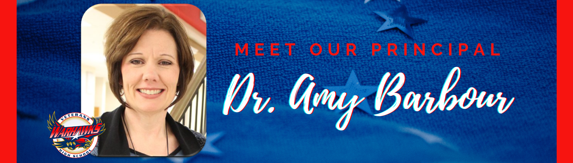 Meet our Principal Dr. Amy Barbour