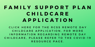 Family Support Plan Childcare Application