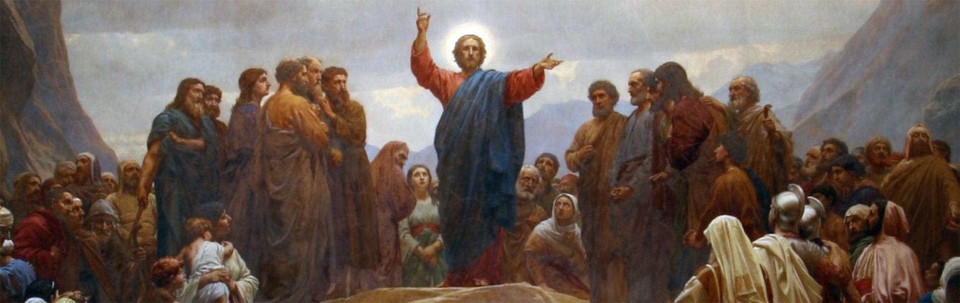 Sankt Matthæus Kirkes altervæg, udført af H. Olrik med hjælp af C.N. Overgaard