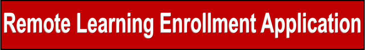 Remote Learning Enrollment Application