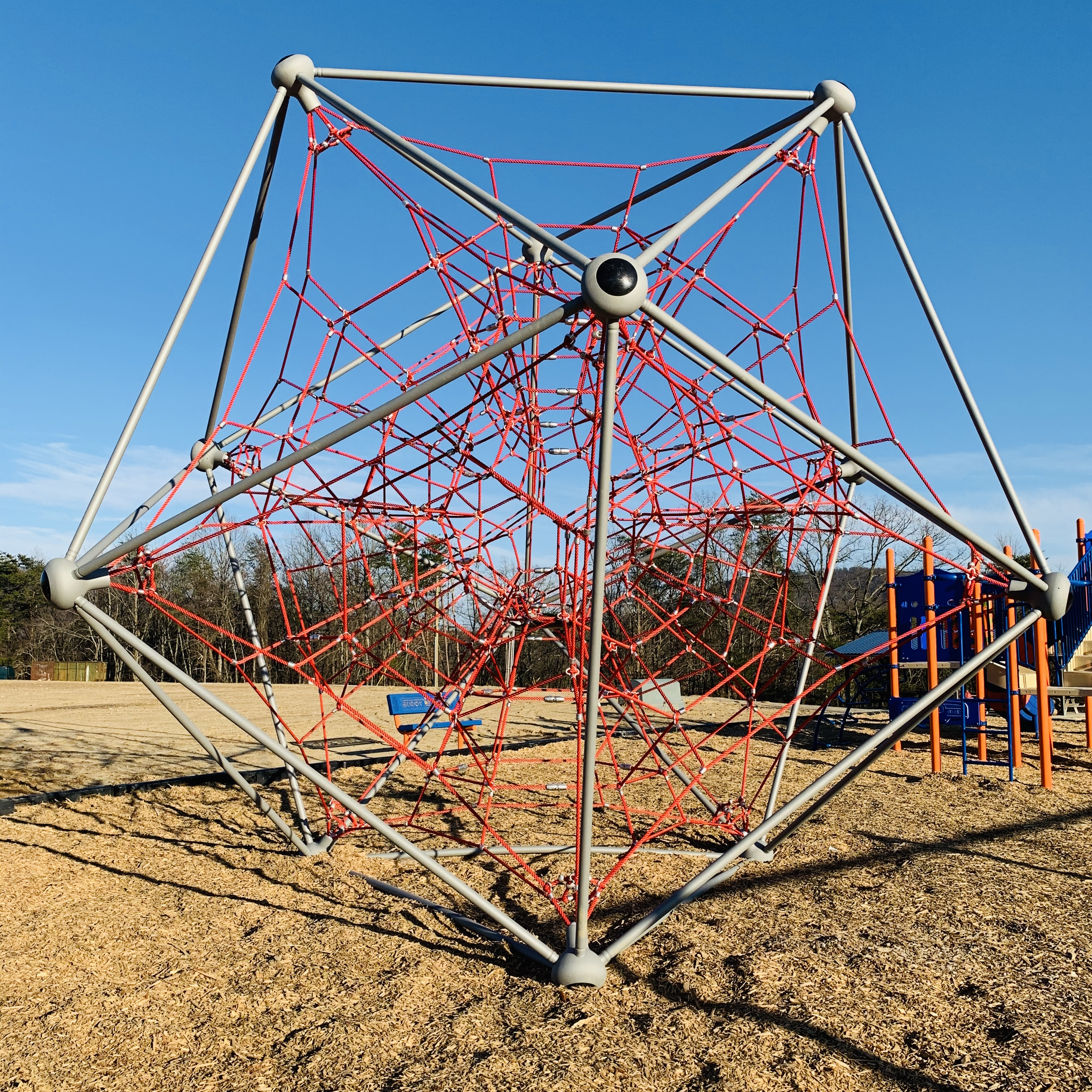 rope-climbing ball