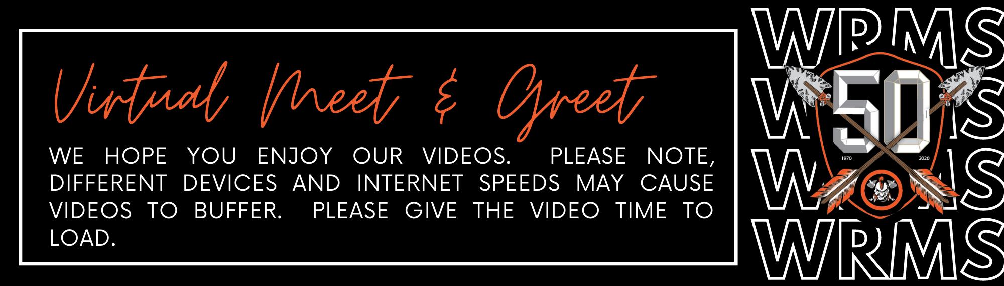 Virtual Meet Greet