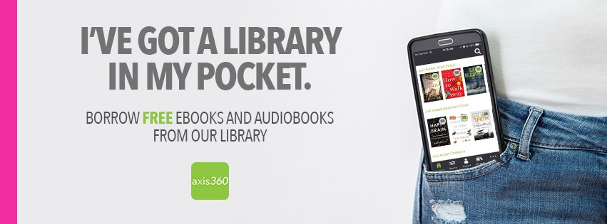 Get an ebook from Axis360; free with your Spanish Fort Public Library card!
