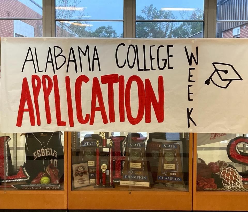 Alabama College Application Week!
