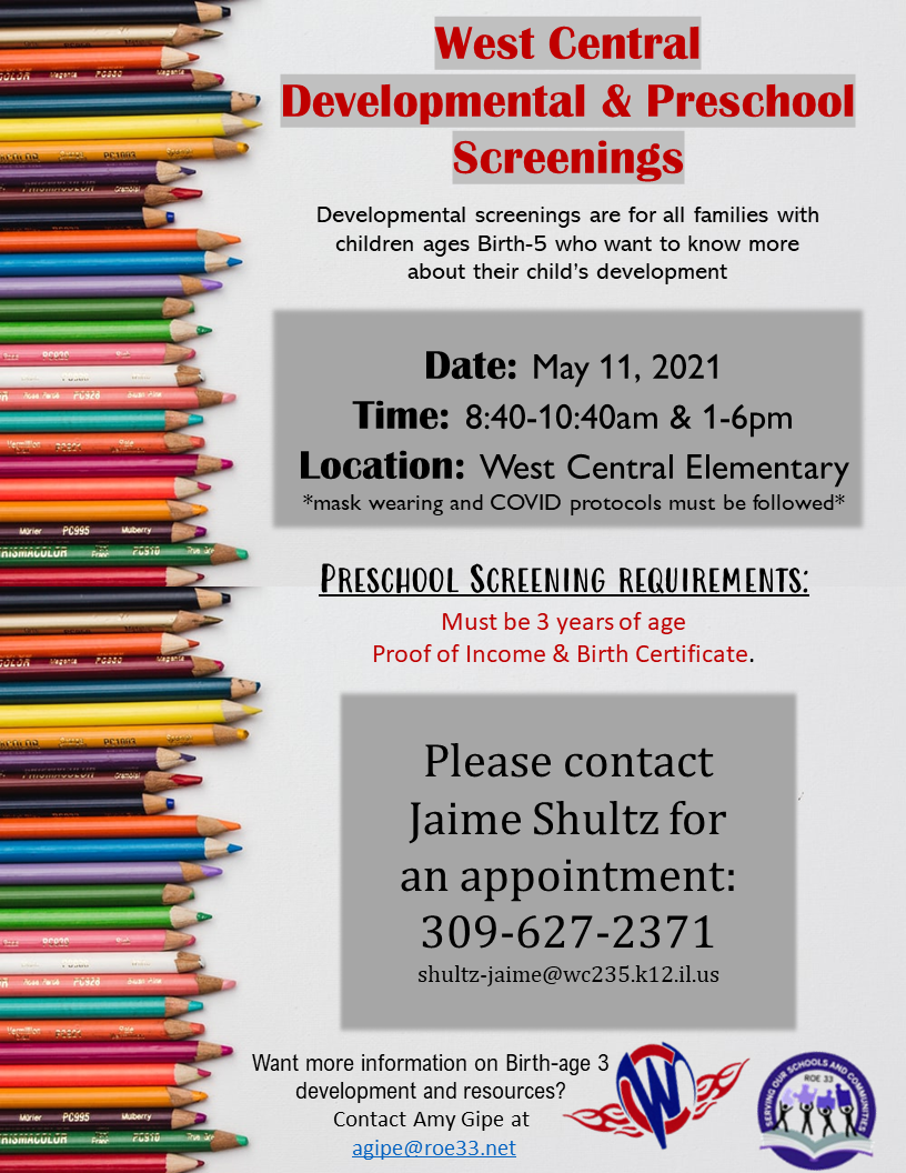 Screenings and Information