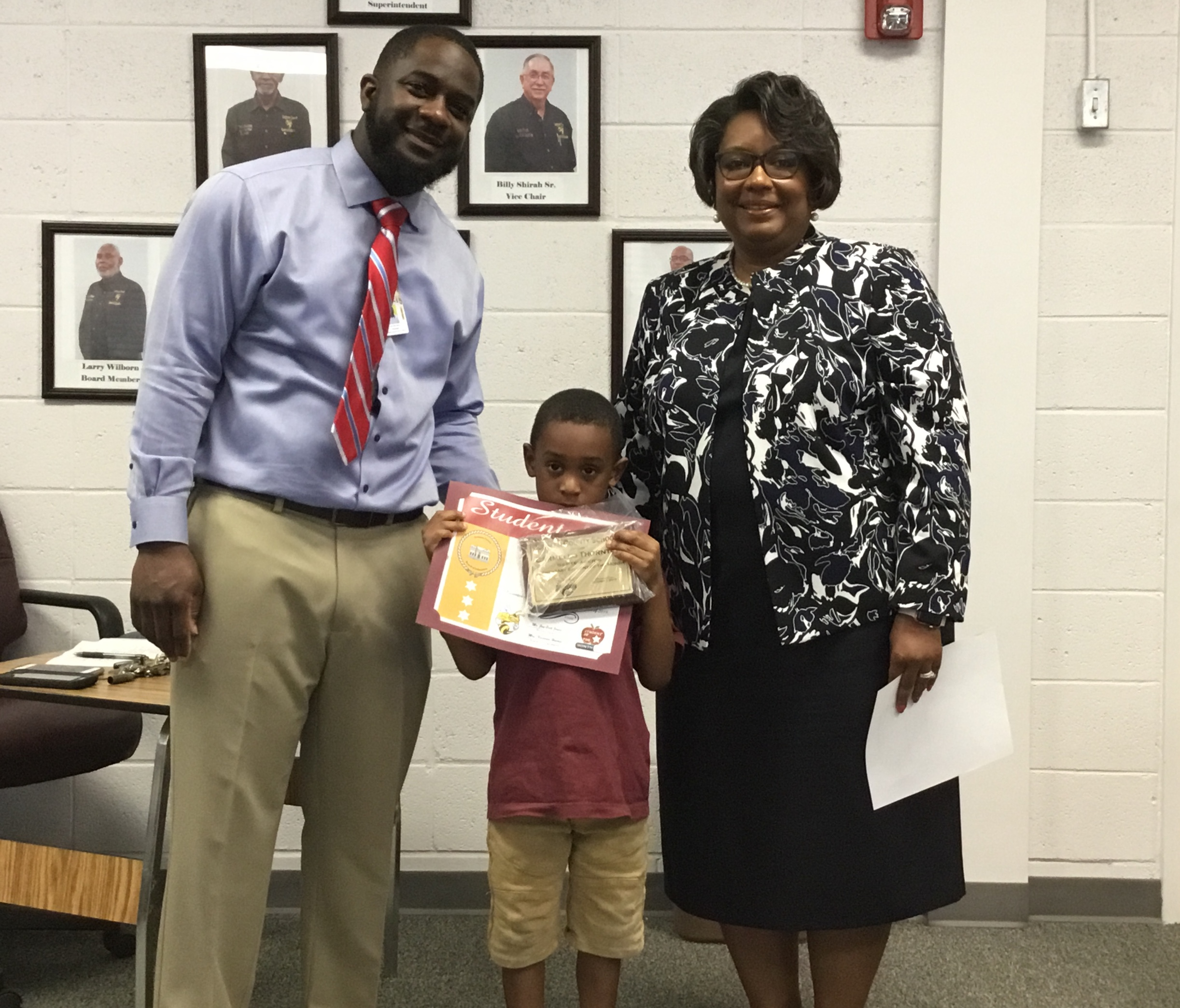 September 2019 ES Student of the Month - Carmello Thornton