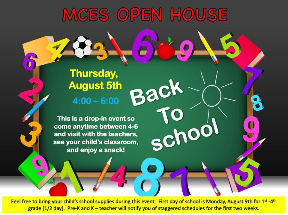 MCES Open House