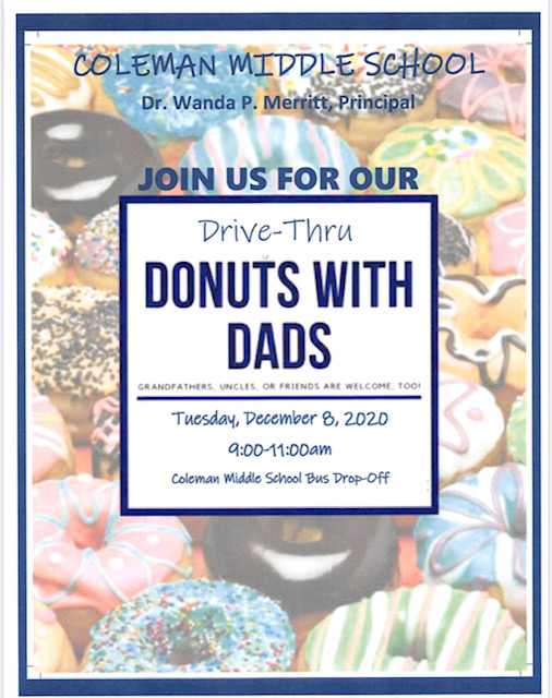 CMS Donuts with Dads