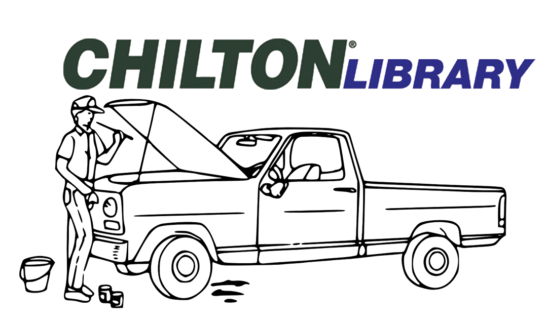 link to the Chilton Library of Auto repair manuals provided by the Alabama Public Library Services and the Institute of Museum and Library Services