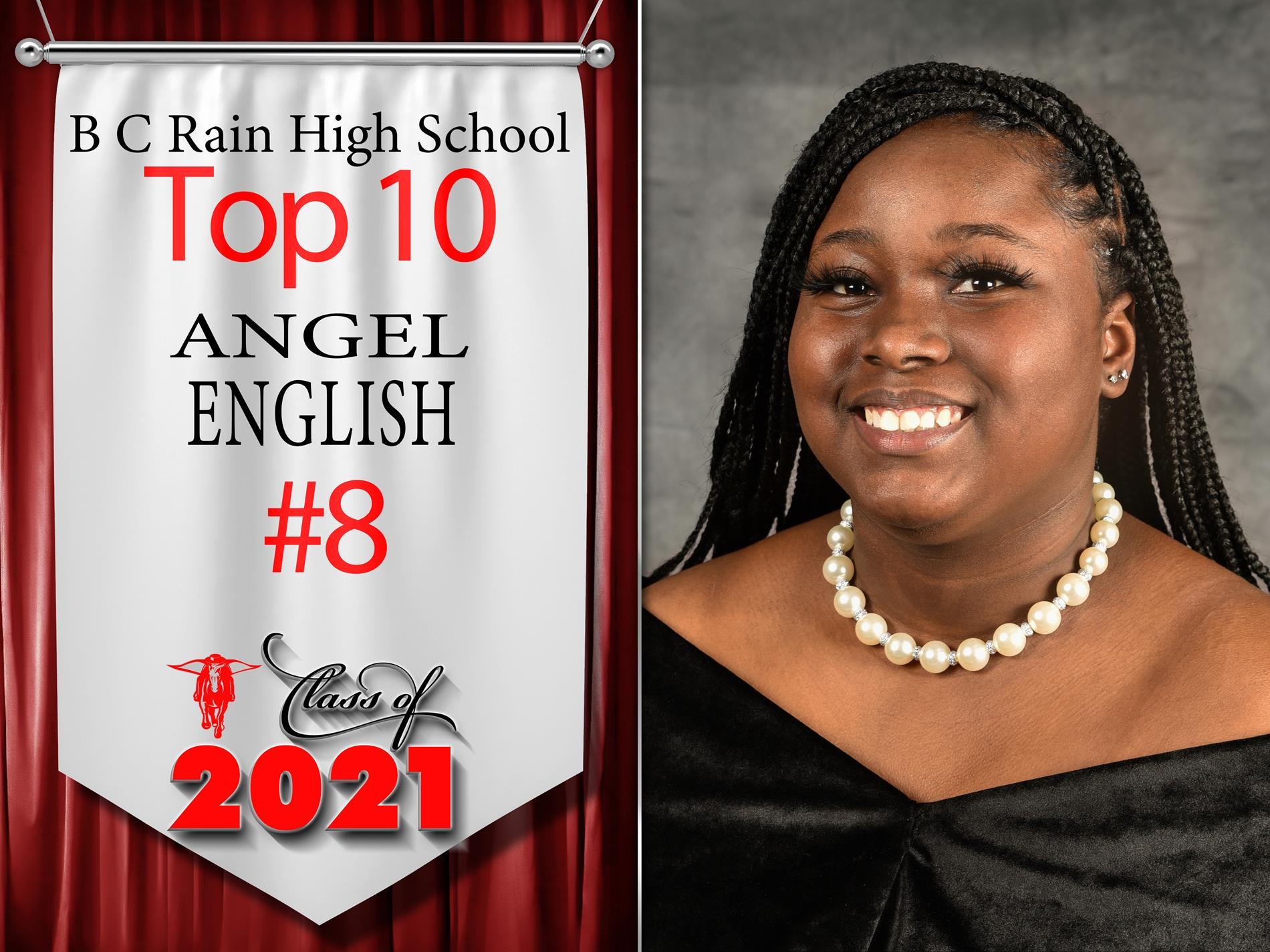 B.C. Rain's Class of 2021 Top 10 Seniors