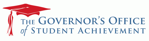 The Governor's Office of Student Achievement logo and link