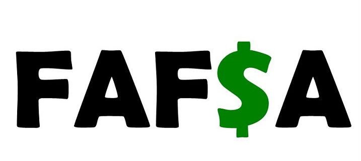 FAFSA with the S as a dollar sign