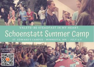 Schoenstatt Camp Postcard
