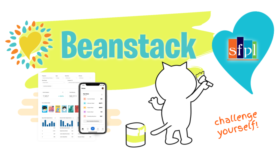 Spanish Fort Public Library BEANSTACK! Sign up opens March 1, 2021!