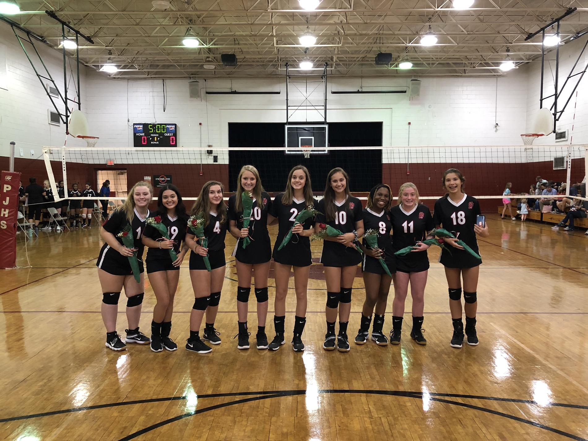 2020 PJHS Volleyball 8th graders