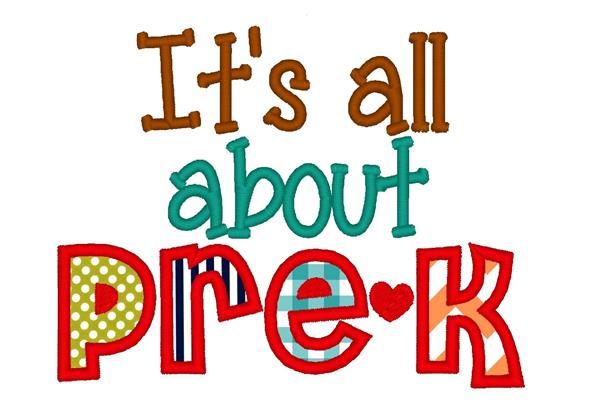 All About Pre-K