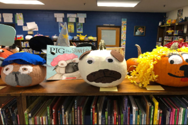 Glen Martin Elementary Pumpkin Contest