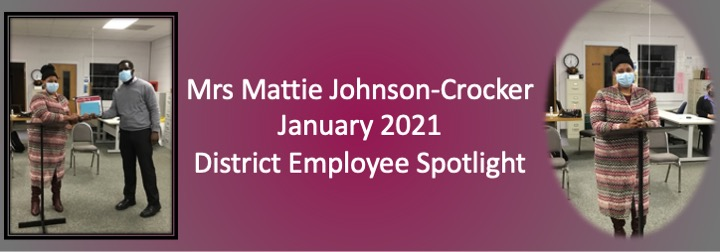 January 2021 District Spotlight