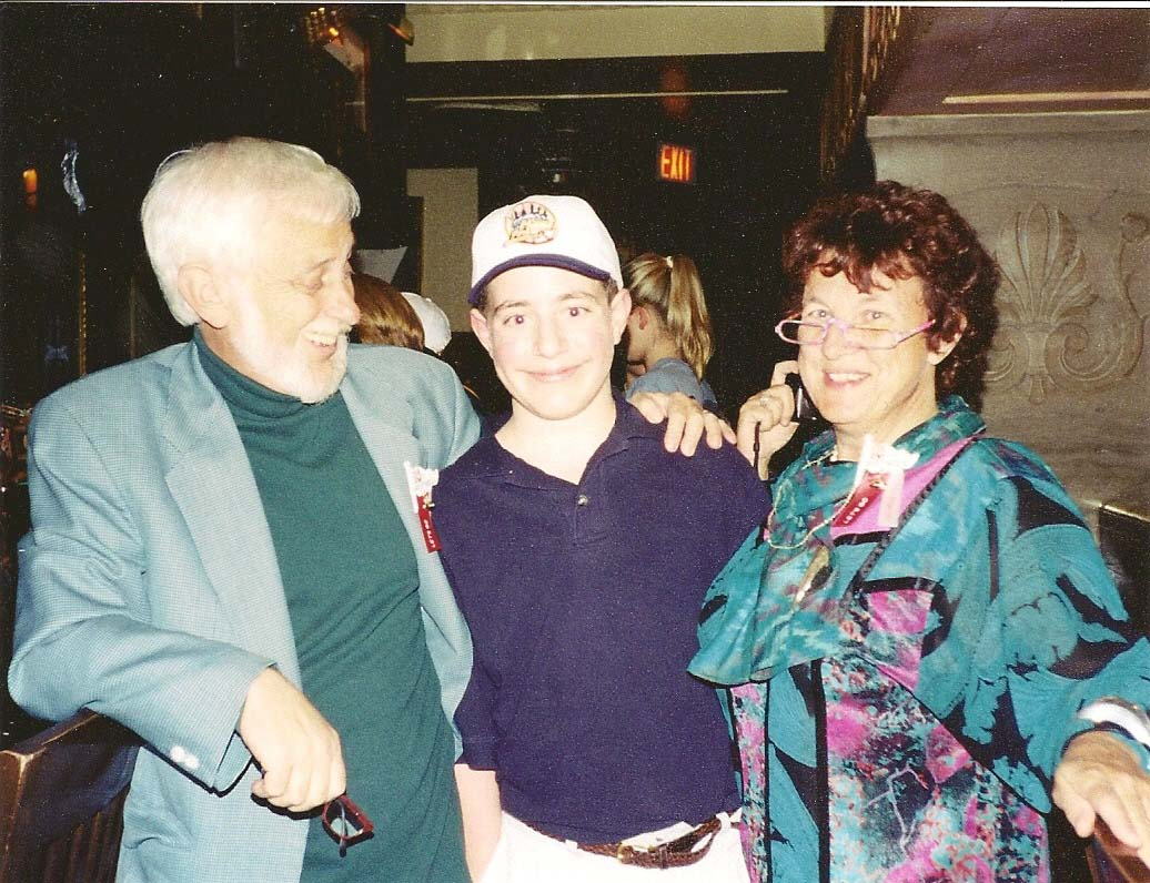 Peter and Dagmar Schroeder with Johnathan Higdon