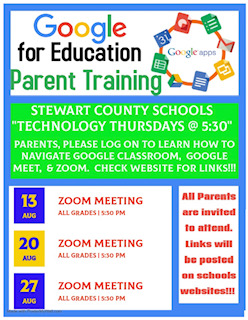Google Training flyer