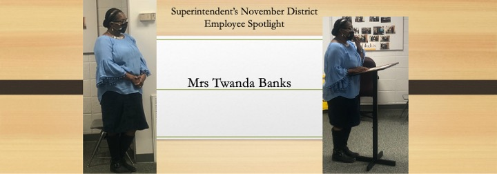 District Employee November 2020 Spotlight