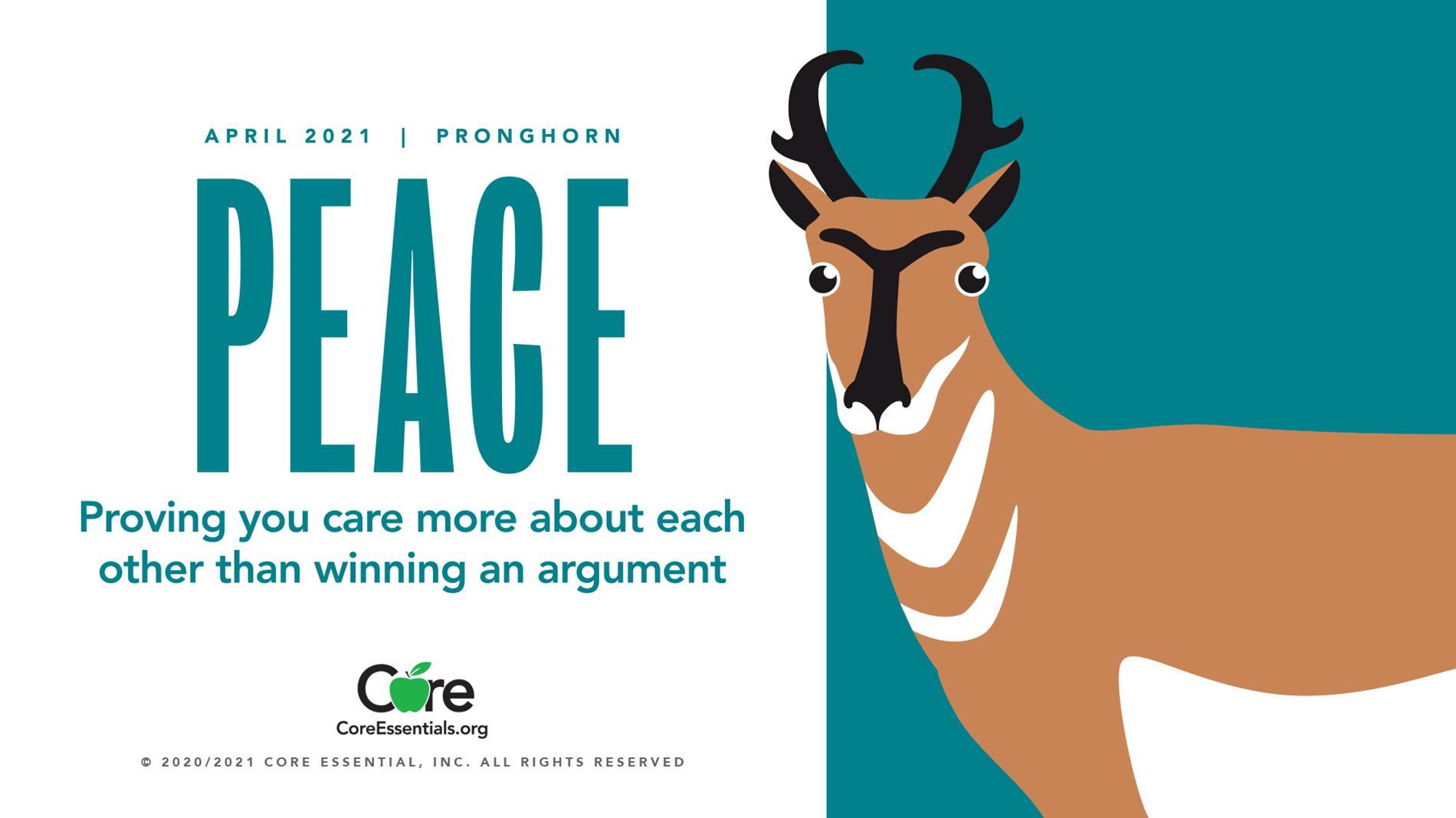 April 2020-Peace