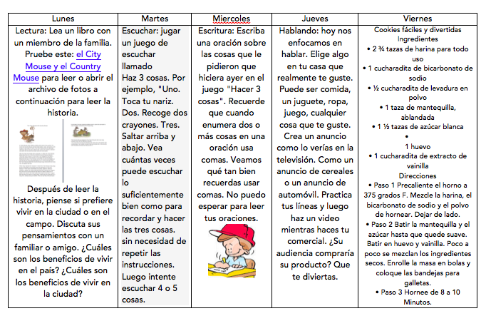 May 11-15 spanish