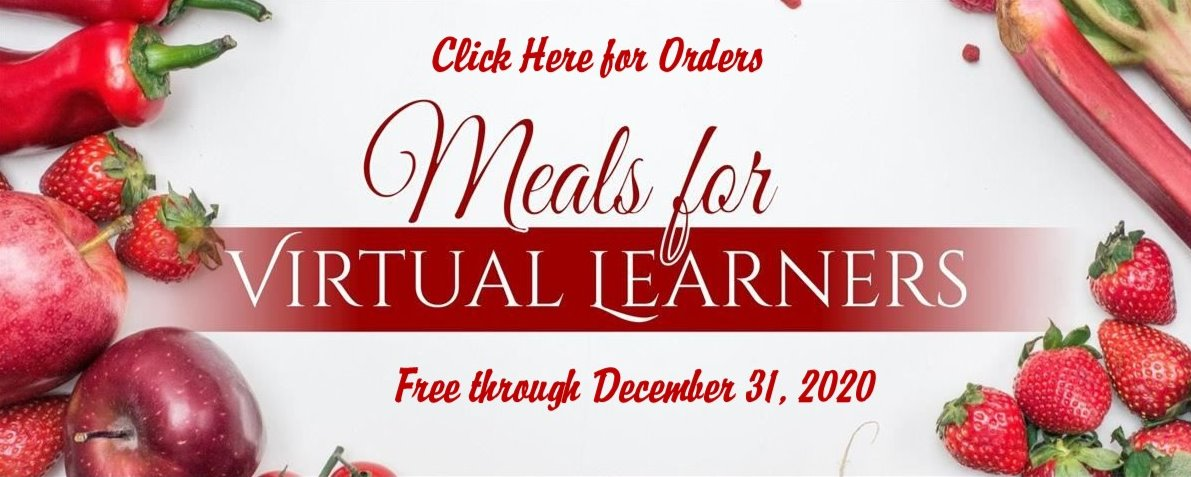 Order Form for Free Lunch and Breakfast (Virtual Learners Click Here)