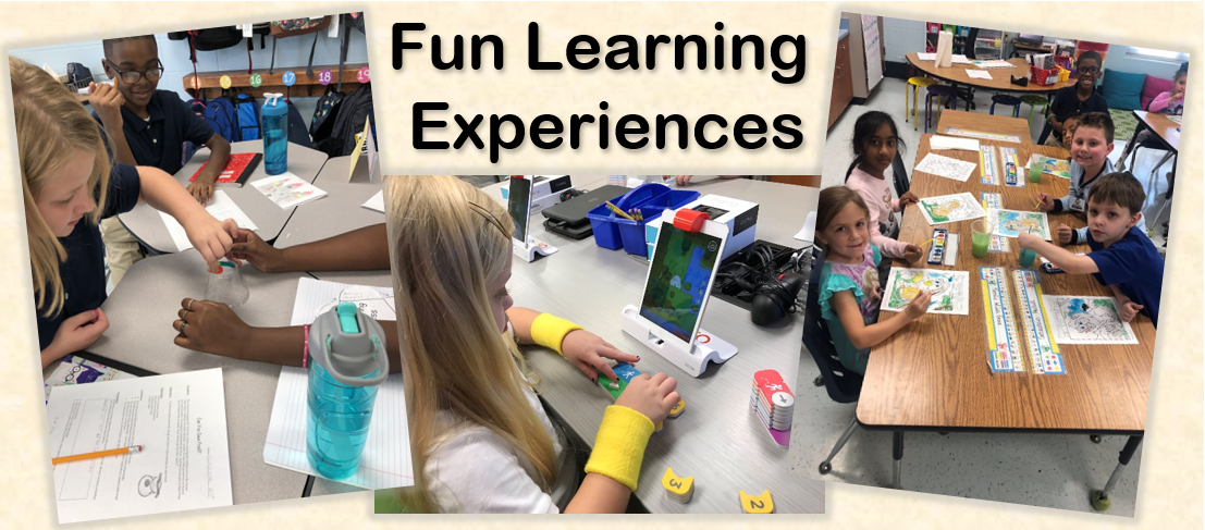 Fun learning experiences