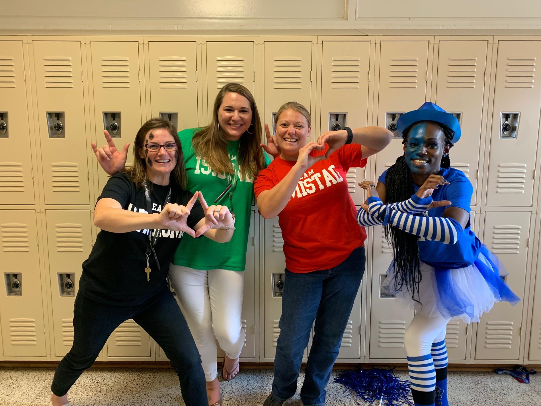Teachers house spirit