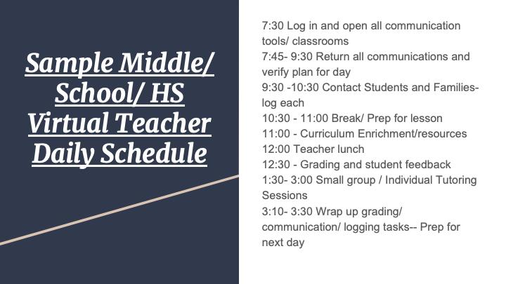 Virtual School Slide 23