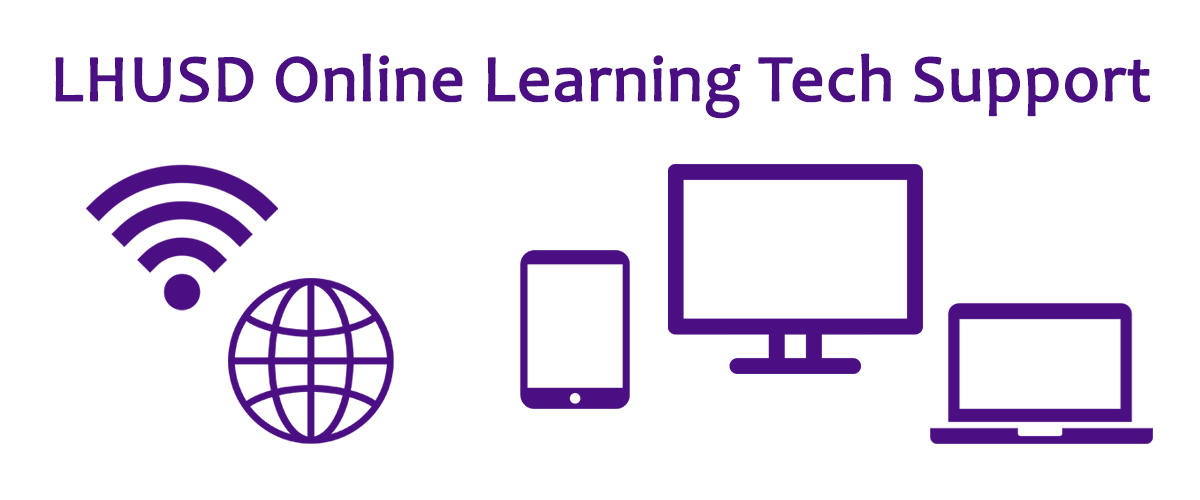 Online Learning Support banner