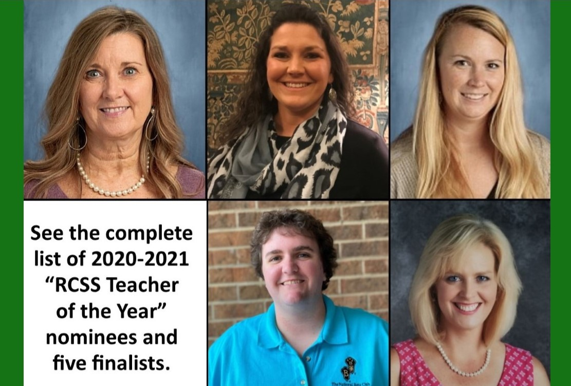 Teacher of the Year Nominees and finalists