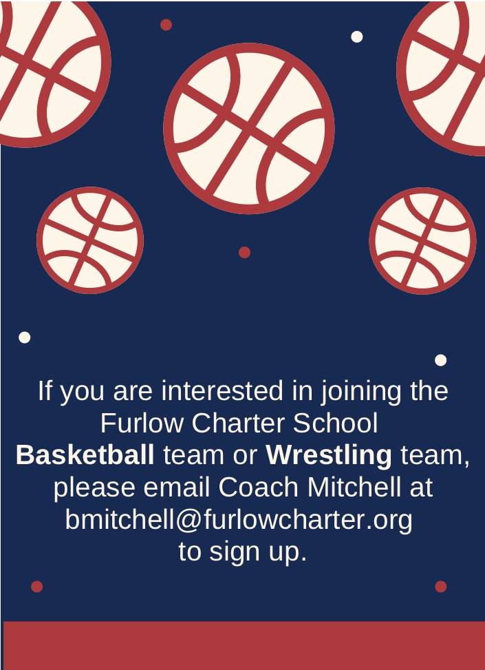 Joining the basketball and wrestling teams information.